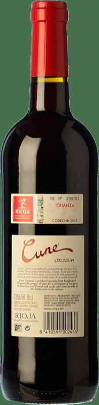 8,95 € Free Shipping   Red wine Norte de España - CVNE Cune Crianza D.O.Ca. Rioja The Rioja Spain Tempranillo, Grenache, Mazuelo Magnum Bottle 1,5 L