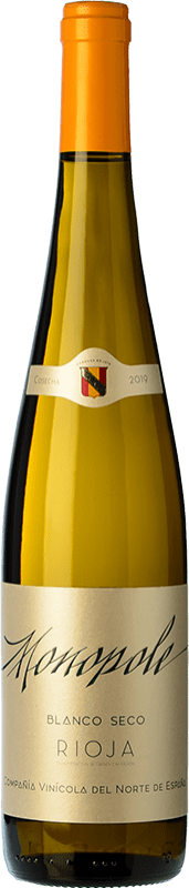 5,95 € Free Shipping | White wine Norte de España - CVNE Monopole D.O.Ca. Rioja The Rioja Spain Viura Bottle 75 cl