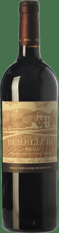 49,95 € 免费送货 | 红酒 Ntra. Sra de Remelluri Colección Jaime Rodríguez Crianza D.O.Ca. Rioja 拉里奥哈 西班牙 Tempranillo, Grenache 瓶子 75 cl