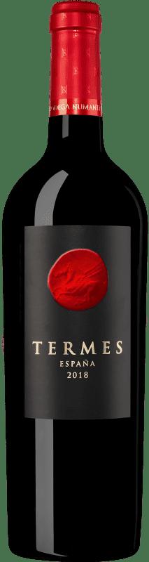 22,95 € 免费送货   红酒 Numanthia Termes Crianza D.O. Toro 卡斯蒂利亚莱昂 西班牙 Tinta de Toro 瓶子 75 cl