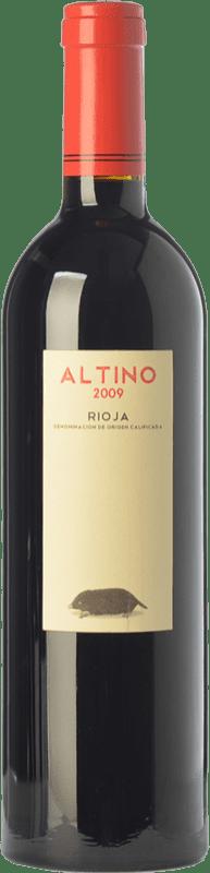 18,95 € 免费送货 | 红酒 Obalo Altino Joven D.O.Ca. Rioja 拉里奥哈 西班牙 Tempranillo 瓶子 75 cl