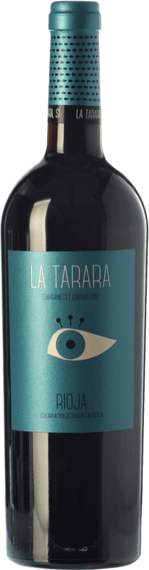11,95 € 免费送货 | 红酒 Obalo La Tarara Crianza D.O.Ca. Rioja 拉里奥哈 西班牙 Tempranillo 瓶子 75 cl
