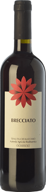 7,95 € Envoi gratuit | Vin rouge Ognissole Brecciato I.G.T. Puglia Pouilles Italie Nero di Troia Bouteille 75 cl