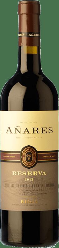 13,95 € | Red wine Olarra Añares Reserva D.O.Ca. Rioja The Rioja Spain Tempranillo, Grenache, Graciano, Mazuelo Bottle 75 cl