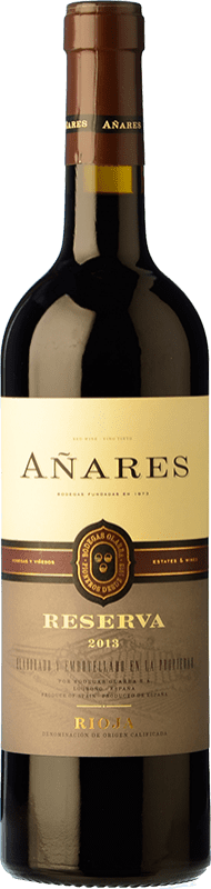 13,95 € Envoi gratuit | Vin rouge Olarra Añares Reserva D.O.Ca. Rioja La Rioja Espagne Tempranillo, Grenache, Graciano, Mazuelo Bouteille 75 cl