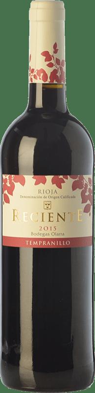 6,95 € Envoi gratuit | Vin rouge Olarra Reciente Joven D.O.Ca. Rioja La Rioja Espagne Tempranillo Bouteille 75 cl
