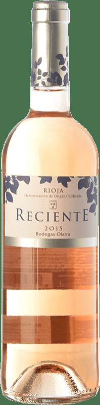 6,95 € Envoi gratuit | Vin rose Olarra Reciente Joven D.O.Ca. Rioja La Rioja Espagne Tempranillo Bouteille 75 cl