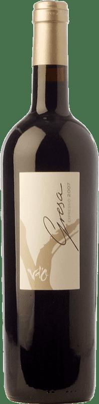 28,95 € Free Shipping | Red wine Olivardots Gresa Crianza D.O. Empordà Catalonia Spain Syrah, Grenache, Cabernet Sauvignon, Carignan Bottle 75 cl