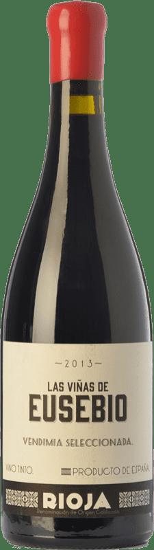 52,95 € Envío gratis | Vino tinto Olivier Rivière Las Viñas de Eusebio Crianza D.O.Ca. Rioja La Rioja España Tempranillo Botella 75 cl