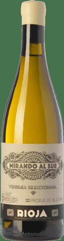 97,95 € Envío gratis | Vino blanco Olivier Rivière Mirando al Sur Crianza D.O.Ca. Rioja La Rioja España Viura Botella 75 cl
