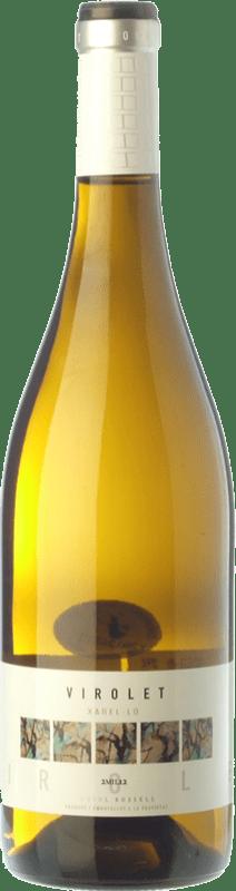 6,95 € Envoi gratuit | Vin blanc Oriol Rossell Virolet D.O. Penedès Catalogne Espagne Xarel·lo Bouteille 75 cl