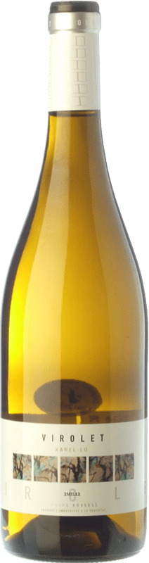 6,95 € | White wine Oriol Rossell Virolet D.O. Penedès Catalonia Spain Xarel·lo Bottle 75 cl