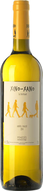 8,95 € | White wine Oriol Rossell Xino-Xano Blanc D.O. Penedès Catalonia Spain Muscatel, Xarel·lo Bottle 75 cl