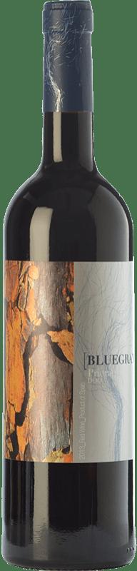 13,95 € Free Shipping | Red wine Orowines Bluegray Crianza D.O.Ca. Priorat Catalonia Spain Grenache, Cabernet Sauvignon, Carignan Bottle 75 cl