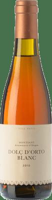 16,95 € | Sweet wine Orto Dolç Blanc D.O. Montsant Catalonia Spain Grenache White, Macabeo, Picapoll Half Bottle 37 cl
