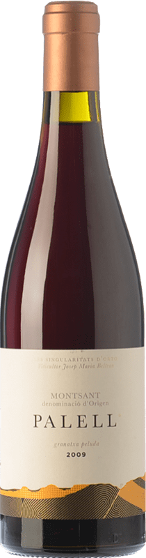 41,95 € | Red wine Orto Palell Crianza D.O. Montsant Catalonia Spain Grenache Hairy Bottle 75 cl