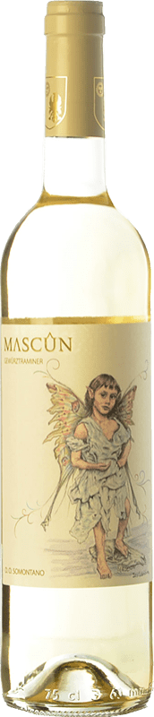 7,95 € Free Shipping | White wine Osca Mascún D.O. Somontano Aragon Spain Gewürztraminer Bottle 75 cl