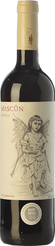 6,95 € Free Shipping | Red wine Osca Mascún Tinta Joven D.O. Somontano Aragon Spain Grenache Bottle 75 cl