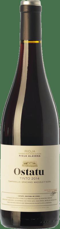 6,95 € 免费送货 | 红酒 Ostatu Cosecha Joven D.O.Ca. Rioja 拉里奥哈 西班牙 Tempranillo, Graciano 瓶子 75 cl
