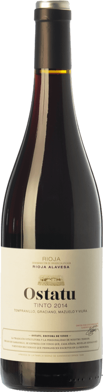 7,95 € | Red wine Ostatu Cosecha Joven D.O.Ca. Rioja The Rioja Spain Tempranillo, Graciano Bottle 75 cl