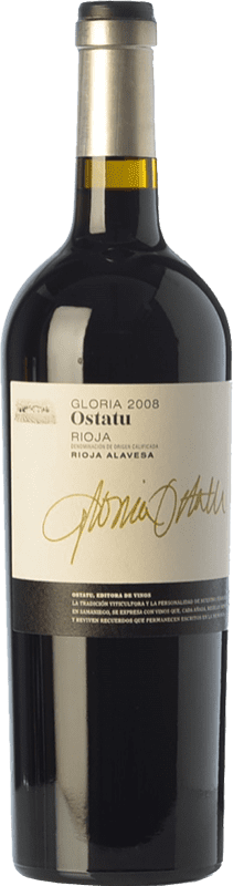 41,95 € | Red wine Ostatu Gloria Reserva 2008 D.O.Ca. Rioja The Rioja Spain Tempranillo Bottle 75 cl