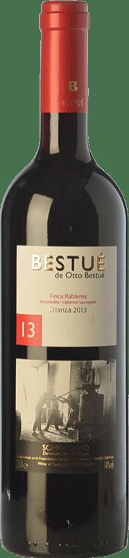 8,95 € | Red wine Otto Bestué Finca Rableros Joven D.O. Somontano Aragon Spain Tempranillo, Cabernet Sauvignon Bottle 75 cl