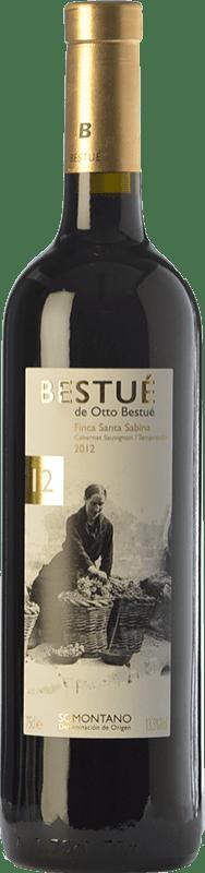 14,95 € | Red wine Otto Bestué Finca Santa Sabina Crianza D.O. Somontano Aragon Spain Tempranillo, Cabernet Sauvignon Bottle 75 cl