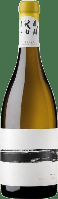 37,95 € Free Shipping | White wine Oxer Wines Iraun Crianza D.O.Ca. Rioja The Rioja Spain Viura Bottle 75 cl