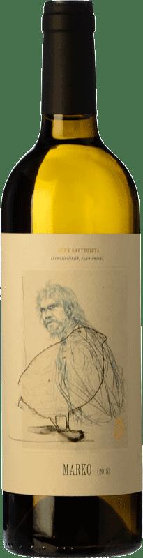 14,95 € Free Shipping   White wine Oxer Bastegieta Marko D.O. Bizkaiko Txakolina Basque Country Spain Hondarribi Zuri Bottle 75 cl