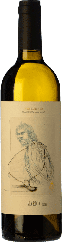 13,95 € Free Shipping | White wine Oxer Wines Marko D.O. Bizkaiko Txakolina Basque Country Spain Hondarribi Zuri Bottle 75 cl