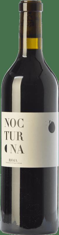 12,95 € Free Shipping | Red wine Oxer Wines Nocturna Crianza D.O.Ca. Rioja The Rioja Spain Tempranillo Bottle 75 cl