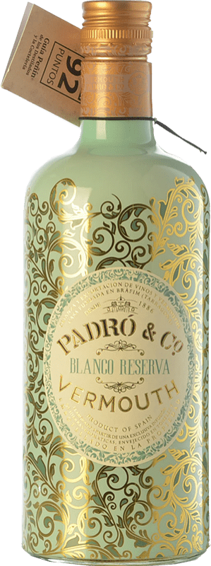 11,95 € Envoi gratuit | Vermouth Padró Blanco Reserva Catalogne Espagne Bouteille 70 cl