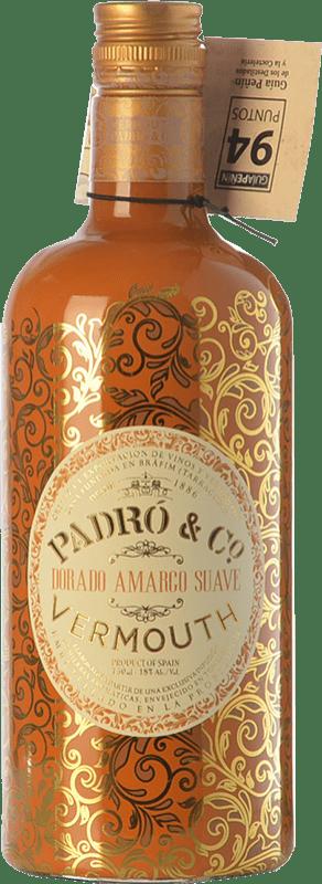 11,95 € 免费送货 | 苦艾酒 Padró Dorado Amargo Suave 加泰罗尼亚 西班牙 瓶子 70 cl