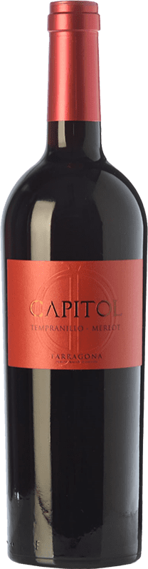 4,95 € | Red wine Padró Capitol Crianza D.O. Tarragona Catalonia Spain Tempranillo, Merlot Bottle 75 cl