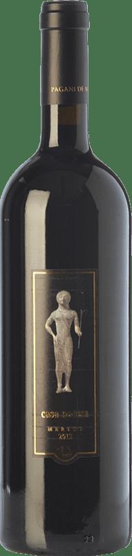 38,95 € Free Shipping | Red wine Pagani de Marchi Casa Nocera I.G.T. Toscana Tuscany Italy Merlot Bottle 75 cl