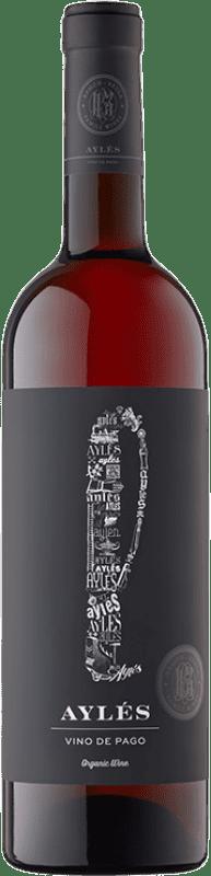 8,95 € Free Shipping | Rosé wine Pago de Aylés L D.O.P. Vino de Pago Aylés Aragon Spain Grenache, Cabernet Sauvignon Bottle 75 cl