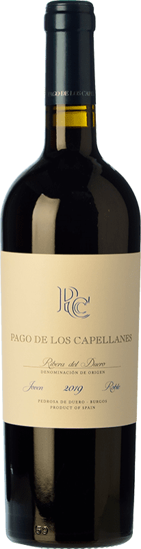 17,95 € | Red wine Pago de los Capellanes Roble D.O. Ribera del Duero Castilla y León Spain Tempranillo Bottle 75 cl