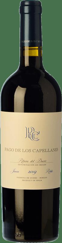 15,95 € Envoi gratuit | Vin rouge Pago de los Capellanes Roble D.O. Ribera del Duero Castille et Leon Espagne Tempranillo Bouteille 75 cl