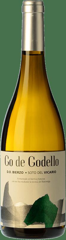 22,95 € Free Shipping | White wine Pago del Vicario Go de Godello Crianza D.O. Bierzo Castilla y León Spain Godello Bottle 75 cl