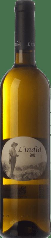 11,95 € | White wine Pagos de Híbera L'Indià Blanc D.O. Terra Alta Catalonia Spain Grenache White Bottle 75 cl