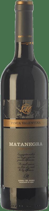 39,95 € Free Shipping | Red wine Pagos de Matanegra Vendimia Seleccionada Crianza D.O. Ribera del Duero Castilla y León Spain Tempranillo Bottle 75 cl