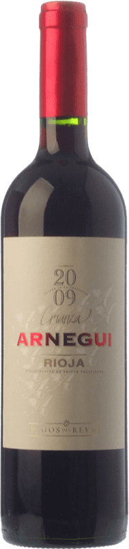7,95 € Envoi gratuit | Vin rouge Pagos del Rey Arnegui Crianza D.O.Ca. Rioja La Rioja Espagne Tempranillo Bouteille 75 cl