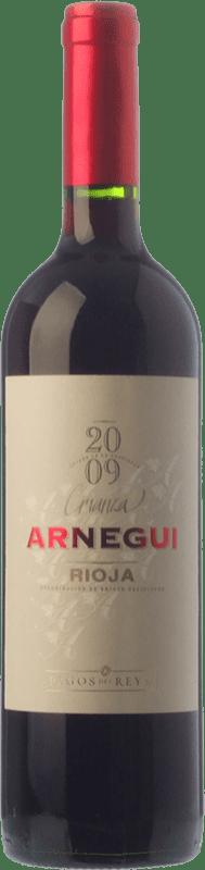 7,95 € Envío gratis | Vino tinto Pagos del Rey Arnegui Crianza D.O.Ca. Rioja La Rioja España Tempranillo Botella 75 cl