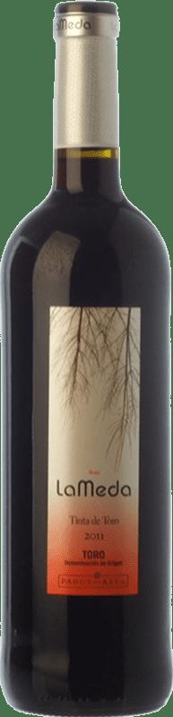 4,95 € Envío gratis | Vino tinto Pagos del Rey Finca La Meda Joven D.O. Toro Castilla y León España Tinta de Toro Botella 75 cl