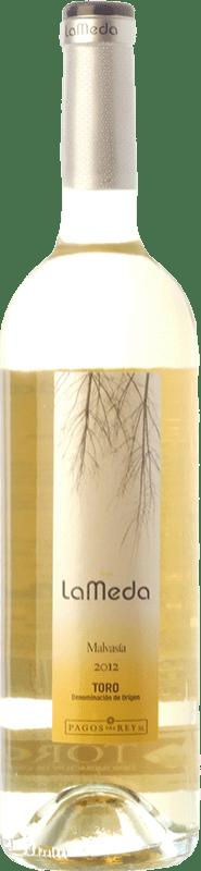 4,95 € Envío gratis | Vino blanco Pagos del Rey Finca La Meda Joven D.O. Toro Castilla y León España Malvasía Botella 75 cl