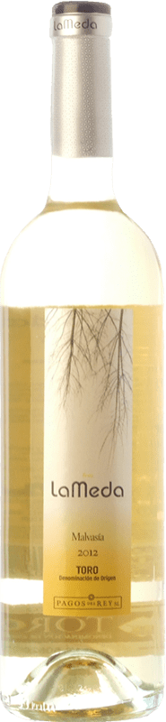 3,95 € Free Shipping | White wine Pagos del Rey Finca La Meda Joven D.O. Toro Castilla y León Spain Malvasía Bottle 75 cl
