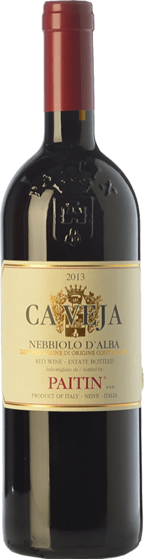 26,95 € Free Shipping | Red wine Paitin Ca Veja D.O.C. Nebbiolo d'Alba Piemonte Italy Nebbiolo Bottle 75 cl