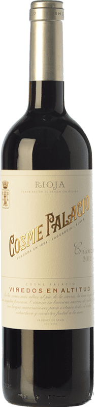 19,95 € Free Shipping | Red wine Palacio Cosme Crianza D.O.Ca. Rioja The Rioja Spain Tempranillo Bottle 75 cl