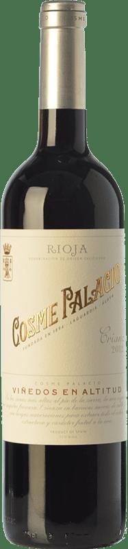 19,95 € Envío gratis | Vino tinto Palacio Cosme Crianza D.O.Ca. Rioja La Rioja España Tempranillo Botella 75 cl