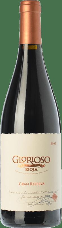 26,95 € Envío gratis | Vino tinto Palacio Glorioso Gran Reserva D.O.Ca. Rioja La Rioja España Tempranillo Botella 75 cl